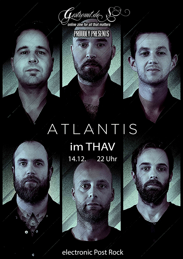 ATLANTIS am 14.12.2013 im THAV Hildesheim