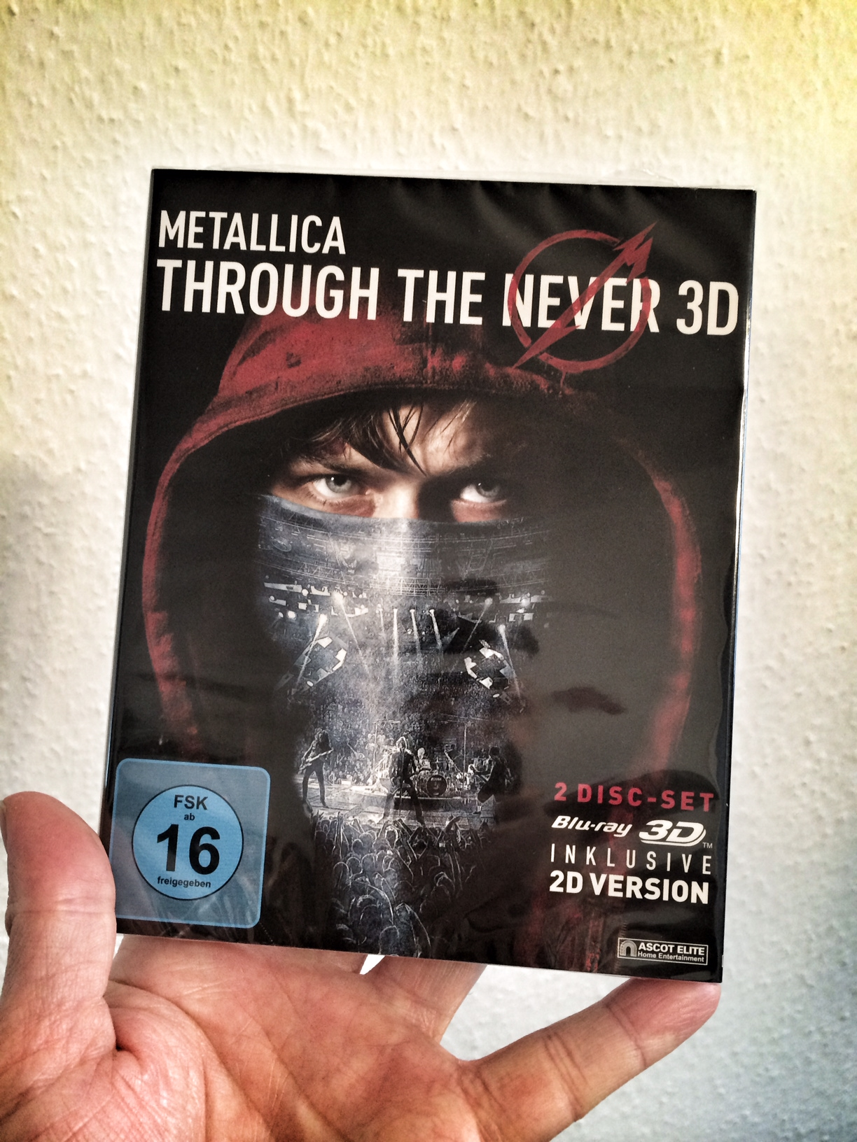 METALLICA: Through The Never-Bluray-Verlosung
