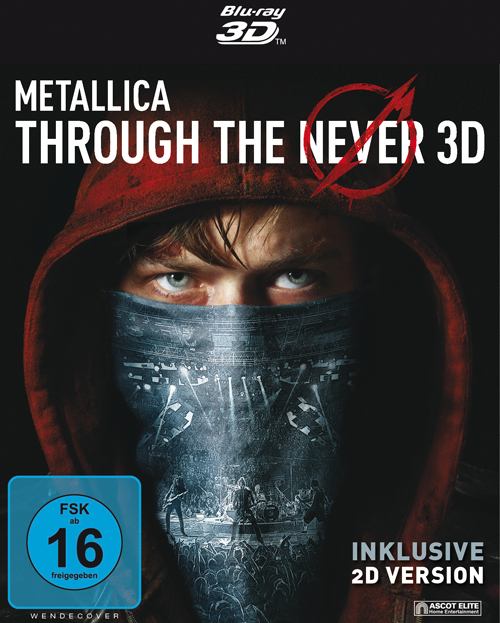 METALLICA – Through The Never DVD/Bluray 2D/3D