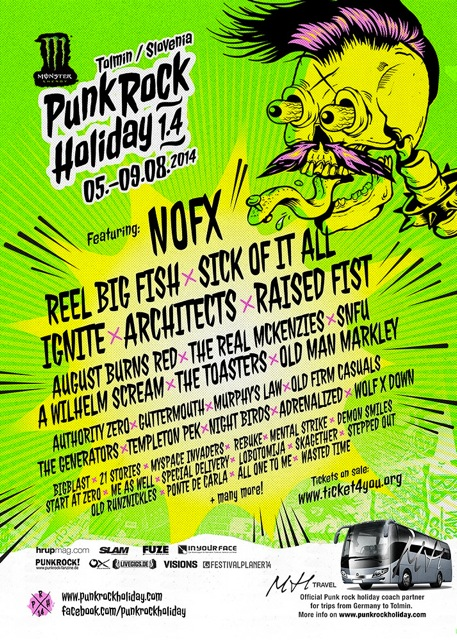 PUNK ROCK HOLIDAY 2014 – News