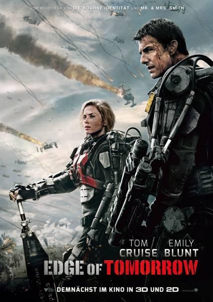 Sci-Fi-Thriller EDGE OF TOMORROW: ab 29.05.14 im Kino!