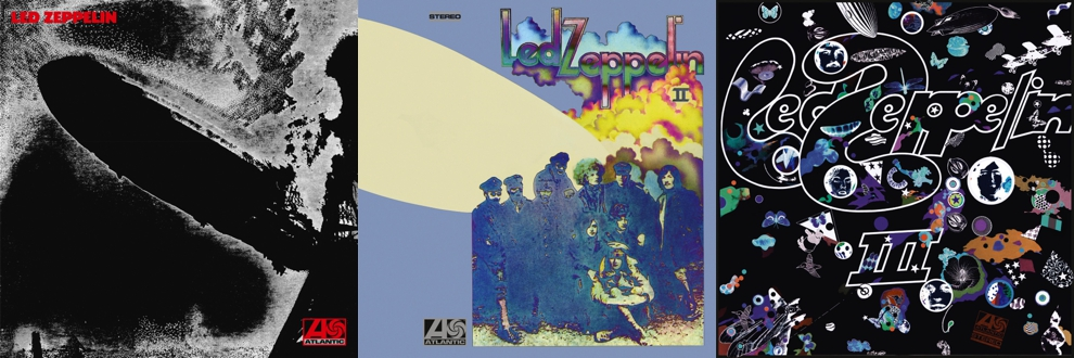 LED ZEPPELIN – Led Zeppelin I, II, III: Re-Release (Remasterte Deluxe Editionen)