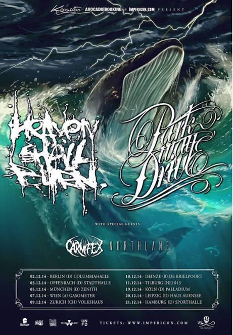PARKWAY DRIVE & HEAVEN SHALL BURN – Tourankündigung 2014