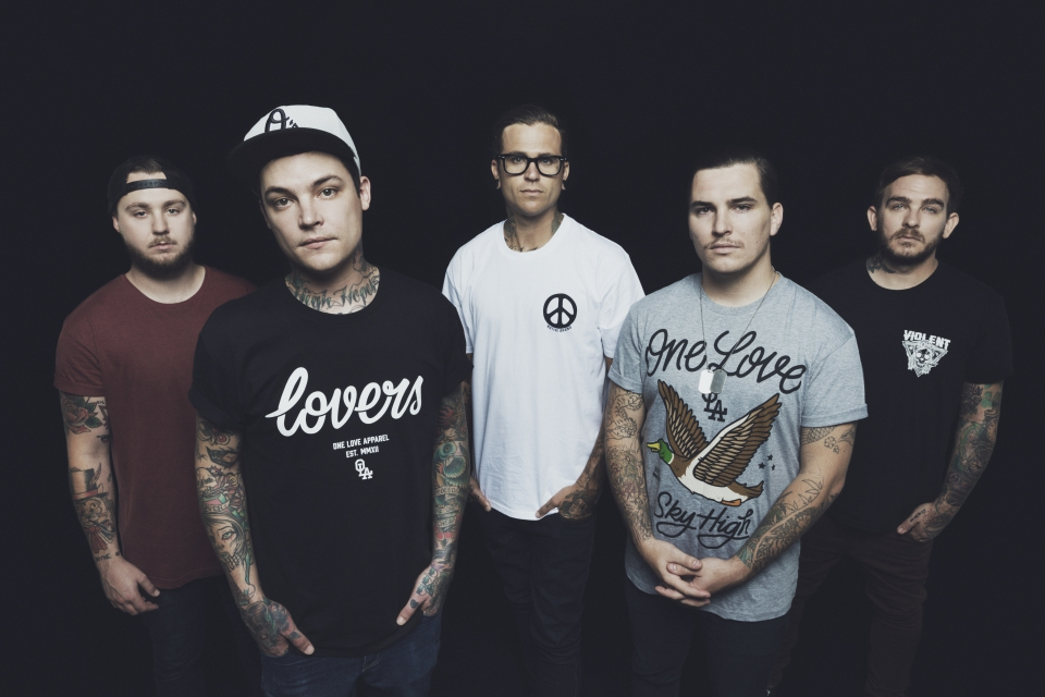 THE AMITY AFFLICTION-Interview, Berlin, Lido, 19.11.2014