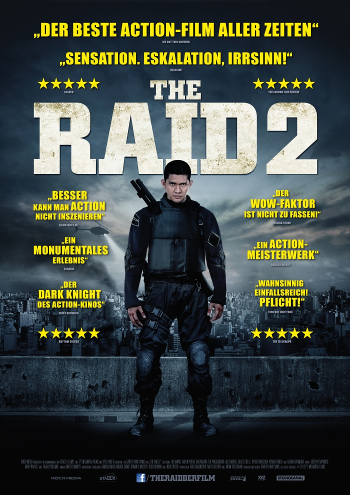 THE RAID 2: Deutscher Trailer online!