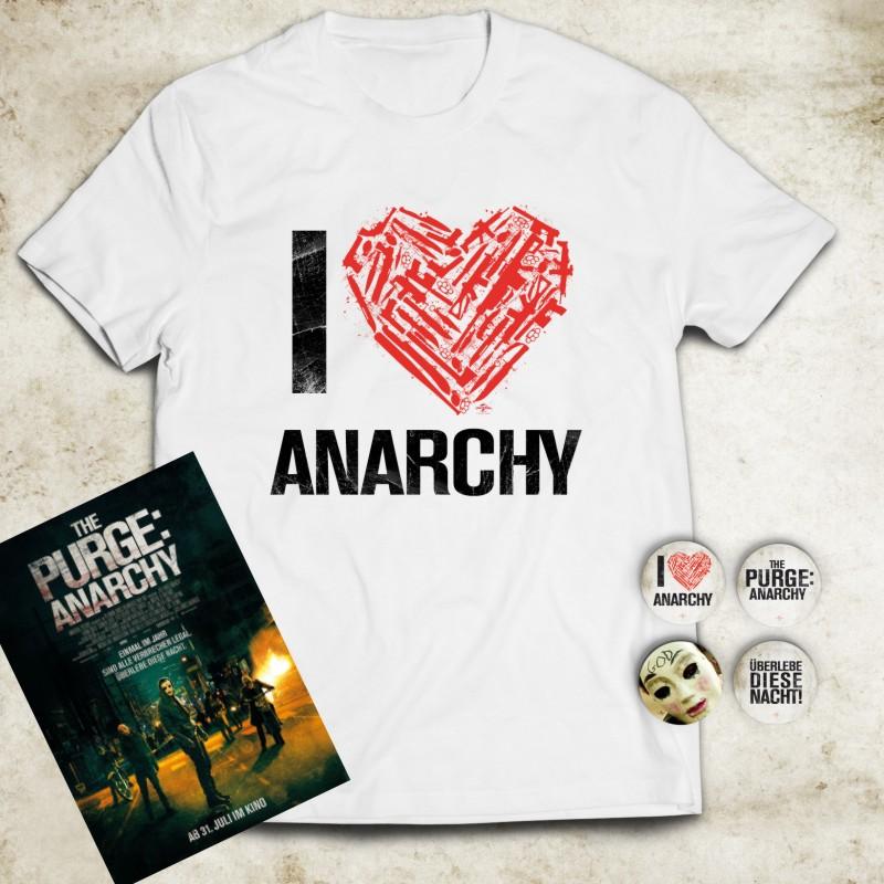 THE PURGE: ANARCHY-Verlosung! Gewinnt Shirts, Sticker und Plakate zum Film!