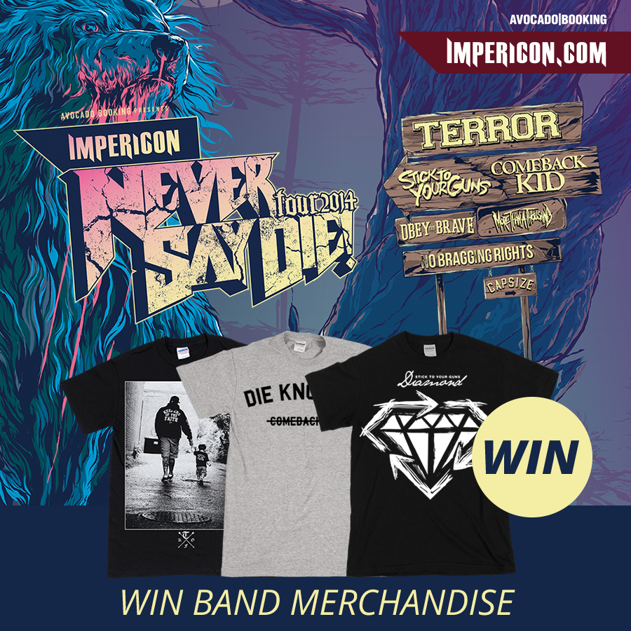 Verlosung zur IMPERICON NEVER SAY DIE TOUR 2014