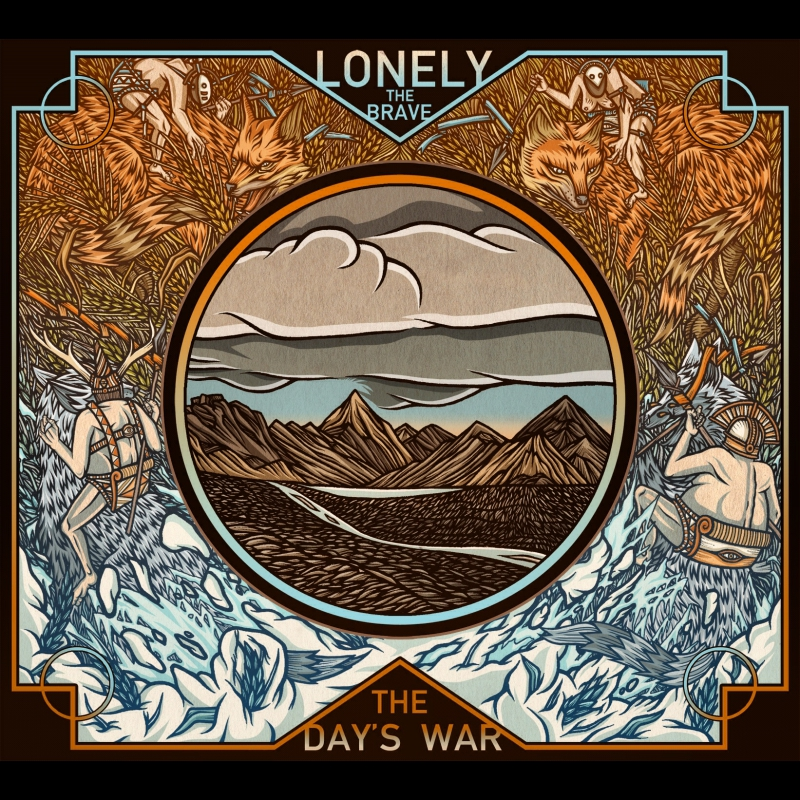 LONELY THE BRAVE – The Day's War
