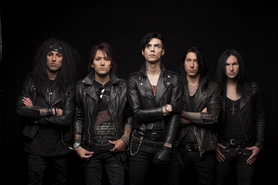 Black Veil Brides courtesy of Spinefarm Records