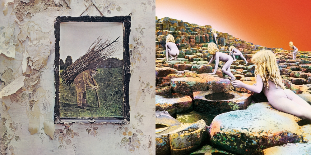 LED ZEPPELIN – Led Zeppelin IV,  Houses Of The Holy: Re-Release (Remasterte Deluxe Editionen)