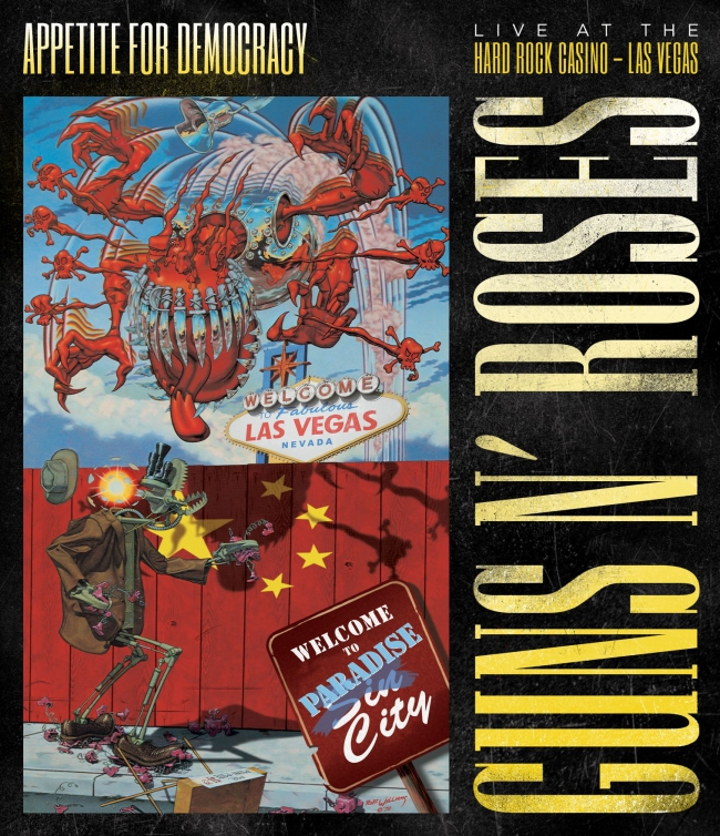 "GUNS N' ROSES-DVD-Verlosung ""Appetite For Democracy""!"