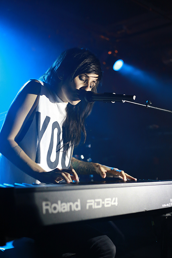 LIGHTS-Interview, Berlin, Comet Club, 03.02.2015