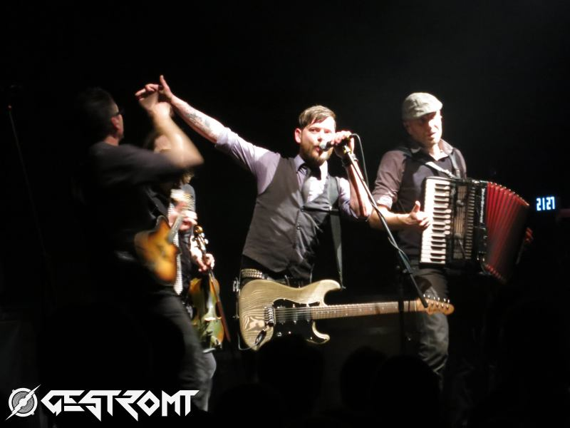 FIDDLER'S GREEN – Interview, Hannover, Pavillon, 26.03.2015