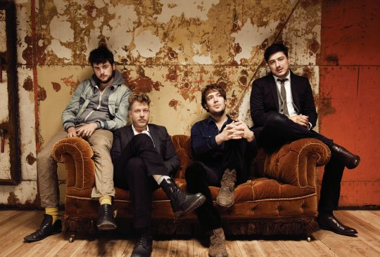 "MUMFORD & SONS: neues Album ""Wilder Mind"" am 01.05.2015"