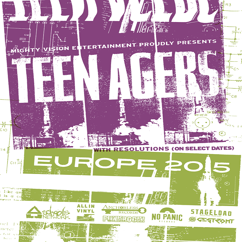 TEEN AGERS/ RESOLUTIONS – Tour 2015