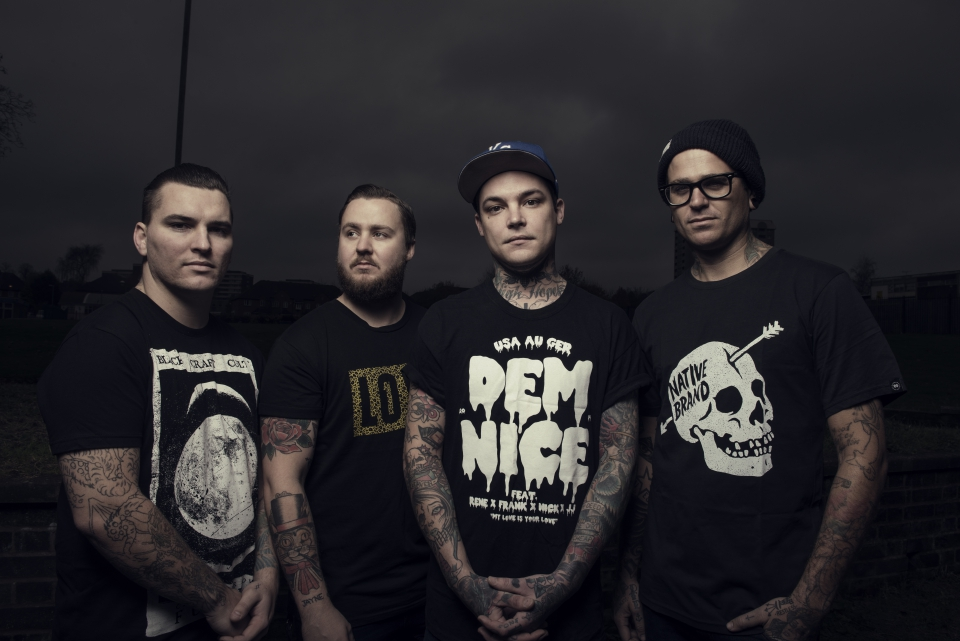 THE AMITY AFFLICTION-Interview, Berlin, C-Club, 19.03.2015