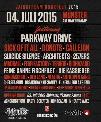 VAINSTREAM Rockfest 2015…bald ist es soweit!