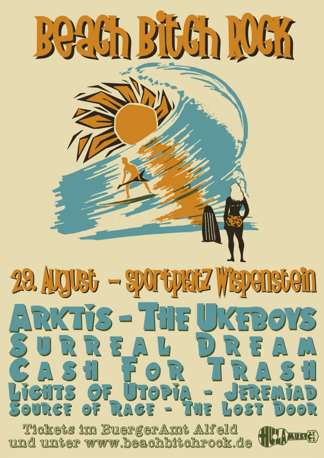 Drittes BEACH BITCH ROCK am 29.08.2015 in Wispenstein