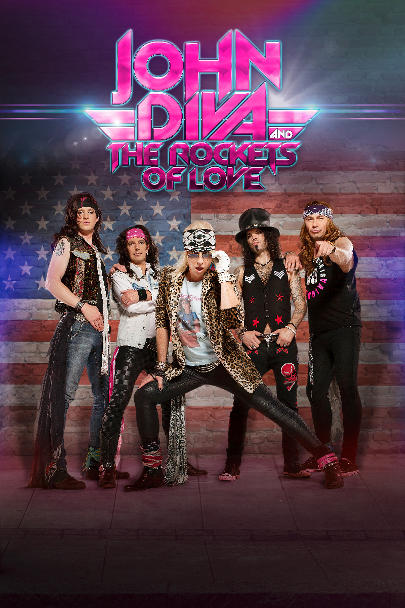 JOHN DIVA & THE ROCKETS OF LOVE – Tour 2015