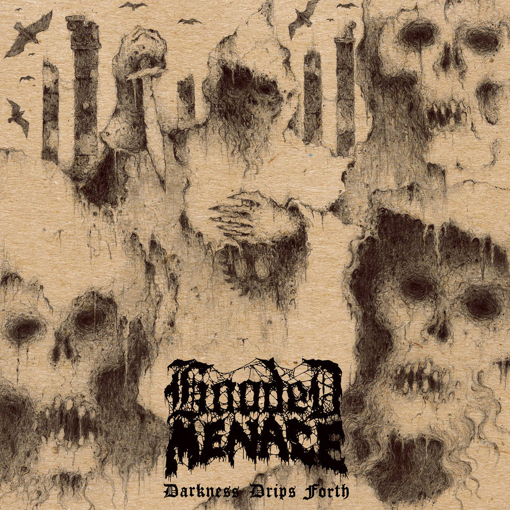 HOODED MENACE – Darkness Drips Forth