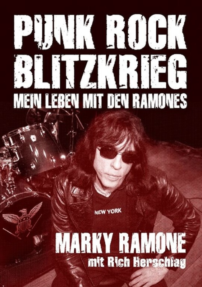 MARKY RAMONE – Punk Rock Blitzkrieg