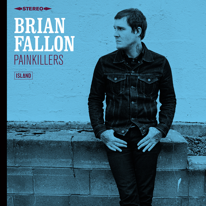 Cover - brian fallon - painkillers