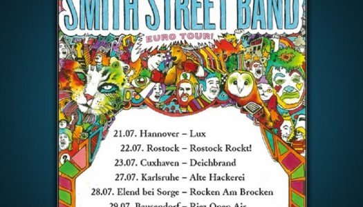 THE SMITH STREET BAND – Tourankündigung und Verlosung