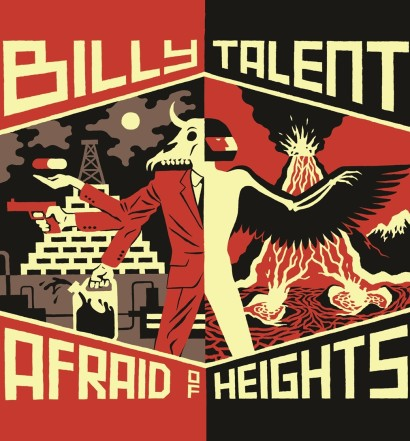 Billy_Talent_Afraid_Of_Hights_Album_Cover
