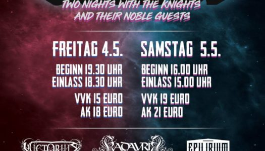 GRAILKNIGHTS laden zum Grailfest in Hannover ein