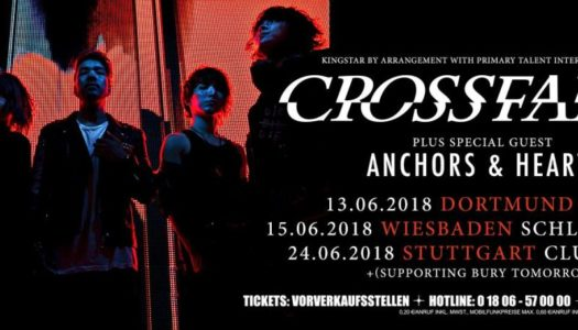 CROSSFAITH, ANCHORS & HEARTS, Dortmund, FZW, 13.06.2018
