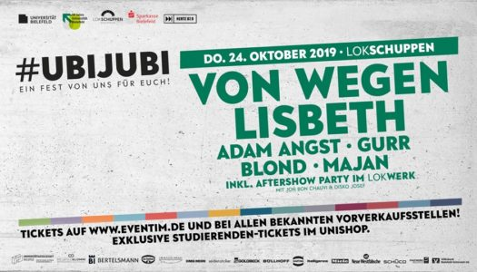 UNI Bielefeld feiert Geburtstag mit Festival