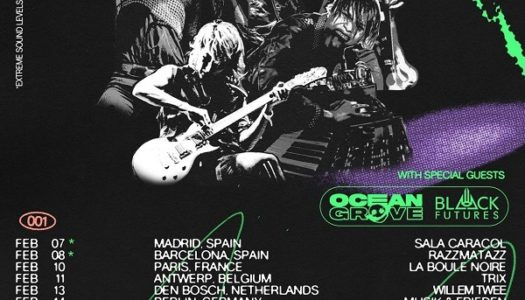 CROSSFAITH, OCEAN GROVE, BLACK FUTURES, HAMBURG, LOGO, 18.02.2020