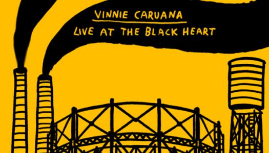 VINNIE CARUANA kündigt Live-Album an
